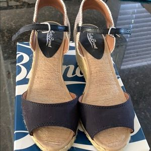 Lucky Brand Wedge Strap Sandals